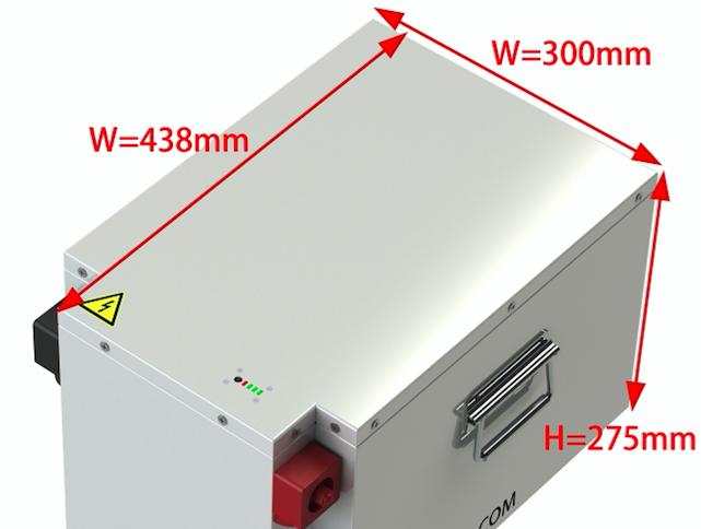 LiPo 2021 Battery storage box size for 800-1600Ah